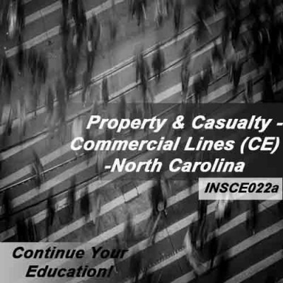 North Carolina - Property and Casualty Insurance - Commercial Lines (6hrs CE)